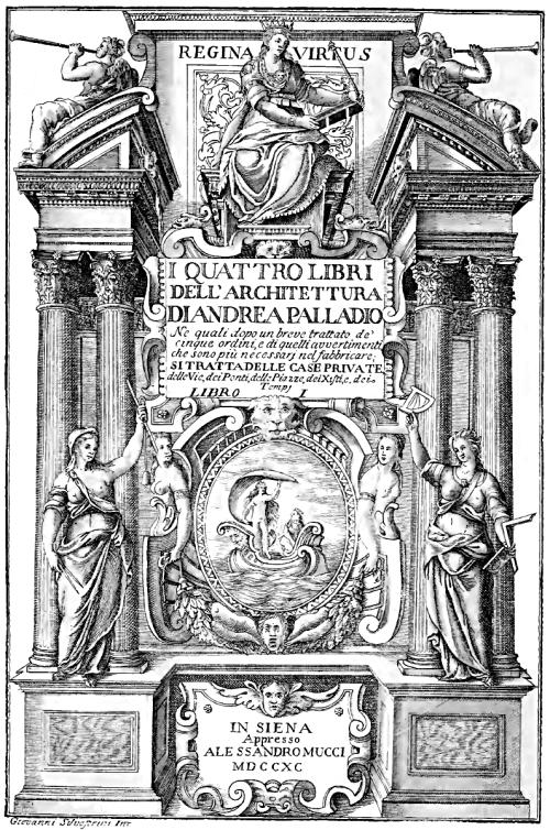 I_quattro_libri_dell'architettura_(1790)_frontespizio_I